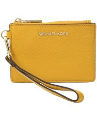 9fa67807e21f Lyst - Michael Michael Kors Lauryn Whip-stitched Continental Travel ...