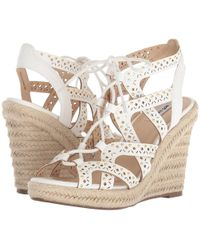 Not Rated - Big Pine (white) Women's Shoes - Lyst