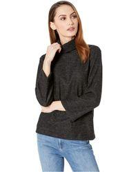 Nally & Millie - Brush Long Sleeve Turtleneck Top (black) Women's Clothing - Lyst