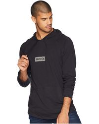 Hurley - Premium One Only Box Pullover (black) Men's Clothing - Lyst