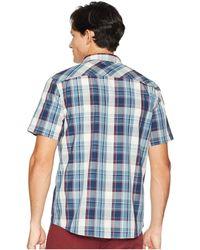 O'neill Sportswear - Kensington Short Sleeve Woven Top (dust Blue) Men's Clothing - Lyst