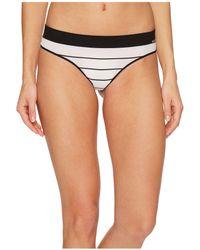 DKNY - Seamless Litewear Thong (poplin Stripe) Women's Underwear - Lyst