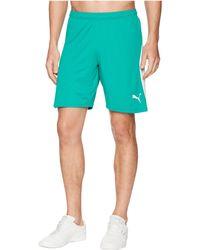 PUMA - Liga Shorts ( Red/ White) Men's Shorts - Lyst