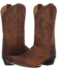 Old West Boots - Mesa (brown Apache) Men's Work Boots - Lyst