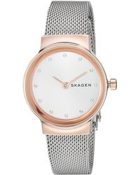 Skagen - Freja - Skw2716 (silver) Watches - Lyst