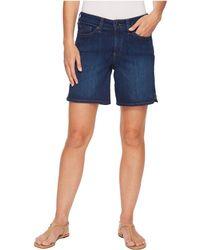NYDJ - Jenna Shorts W/ Mini Side Slit In Cooper (cooper) Women's Shorts - Lyst
