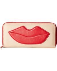 Alice + Olivia - Long Wallet With Lip - Lyst