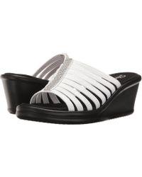 Skechers - Rumblers - Hot Shot (black 1) Women's Shoes - Lyst