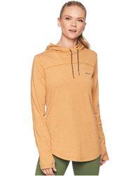 Columbia - Pilsner Peaktm Hoodie (canyon Gold) Women's Sweatshirt - Lyst