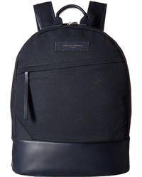 Want Les Essentiels De La Vie - Kastrup Backpack (navy/navy) Backpack Bags - Lyst