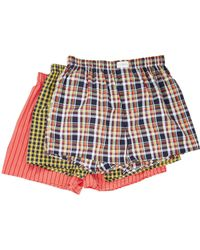 Tommy Hilfiger   3-pack Woven Boxers   Lyst