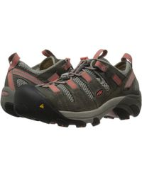 Keen Utility - Atlanta Cool Esd Soft Toe (gargoyle/hot Coral) Women's Industrial Shoes - Lyst