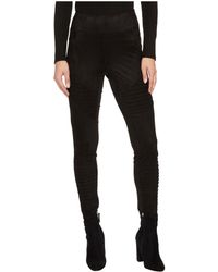 Jack BB Dakota - Madelyn Faux Suede Moto Leggings - Lyst