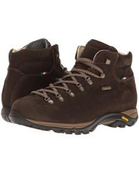 Zamberlan - Trail Lite Evo Gtx (dark Brown) Men's Boots - Lyst