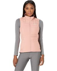 Nike - Essential Vest Filled (atmosphere Grey/metallic Silver) Women's Clothing - Lyst