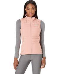 Nike - Essential Vest Filled (black/black/metallic Silver) Women's Clothing - Lyst