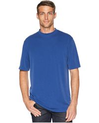 Bugatchi - Textured Modal-blend Crew T-shirt (navy) Men's Clothing - Lyst