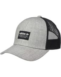 c42640cfd10 adidas Originals - Originals Trefoil Trucker (black white) Caps - Lyst