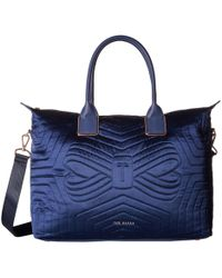 Ted Baker - Agaria (navy) Tote Handbags - Lyst