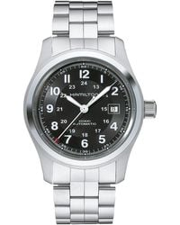 Hamilton - Khaki Field Auto 42mm - H70515137 (black) Watches - Lyst