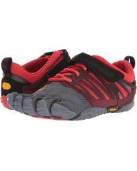 Vibram Fivefingers - V-train (grey/black/red) Men's Shoes - Lyst
