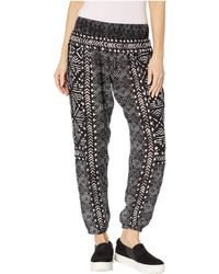 Rip Curl - Coast To Coast Pant (black) Women's Casual Pants - Lyst