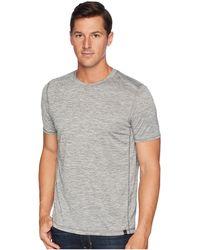 Prana - Hardesty T-shirt (titanium Grey Stripe) Men's T Shirt - Lyst