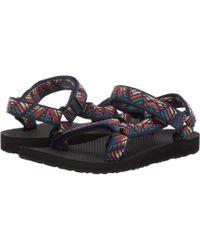 d2c20063746e85 Teva - Original Universal (black) Women s Sandals - Lyst