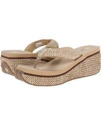 15971cd15d3 Volatile - Island (black) Women s Wedge Shoes - Lyst