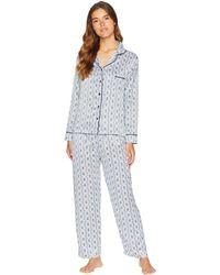 Bluebella - Roma Shirt And Trousers Pajama Set (insignia Blue/ivory) Women's Pajama Sets - Lyst