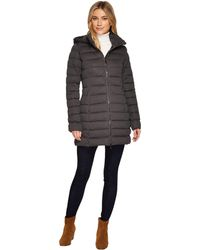 Save The Duck - Long Stretch Coat - Lyst
