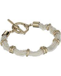 Lauren by Ralph Lauren - Multi Row Toggle Bracelet - Lyst