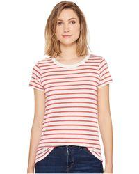 Alternative Apparel - Ideal Tee (stars) Women's T Shirt - Lyst