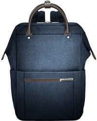 Briggs & Riley - Kinzie Street - Framed Wide Mouth Backpack (navy) Backpack Bags - Lyst