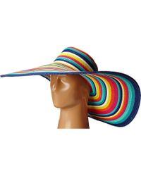 San Diego Hat Company - Ubx2721 Striped Floppy 8 Inch Brim Sun Hat - Lyst