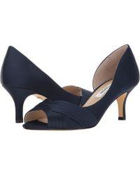 Nina - Contesa (champagne Crystal Satin) High Heels - Lyst