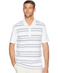 adidas Originals - Ultimate Novelty Stripe Polo (grey Two/collegiate Navy) Men's Clothing - Lyst