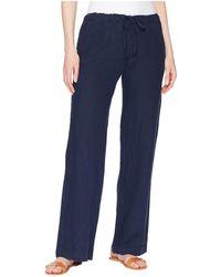 Allen Allen - Solid Long Pants (lapis) Women's Casual Pants - Lyst