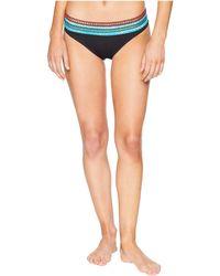 La Blanca - Running Stitch Hipster Bottom (black) Women's Swimwear - Lyst