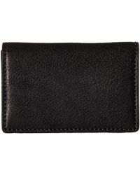 Bosca - Washed Collection - Full Gusset Card Case (black) Credit Card Wallet - Lyst