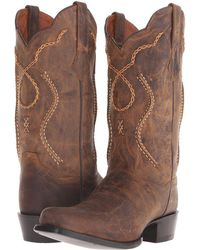Dan Post - Albany 7 (brown) Cowboy Boots - Lyst