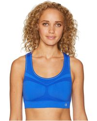 afe2a2a44e Lyst - Champion C9 Smooth Sports Bra Power Shape Medium Support Duo Dry