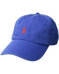 99f2fc6cee5 Polo Ralph Lauren - Classic Sport Cotton Chino Hat (channel Grey) Caps -  Lyst
