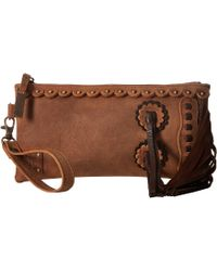 STS Ranchwear - Chaps Clutch (tornado Brown) Clutch Handbags - Lyst