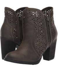 Not Rated - Gretchen (charcoal) Women's Boots - Lyst