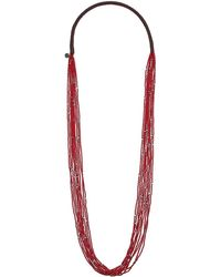 Chan Luu - 10 Strand Scattered Seed Bead Necklace - Lyst