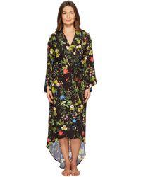 Maison Du Soir - Isabella Robe (black Floral) Women's Robe - Lyst