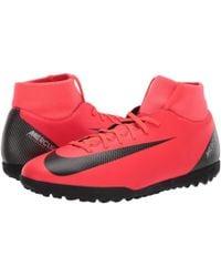 Nike - Superflyx 6 Club Cr7 Tf (bright Crimson/black/chrome) Men's Soccer Shoes - Lyst