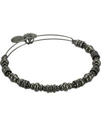 ALEX AND ANI - Spellbound Bangle (shiny Gold) Bracelet - Lyst