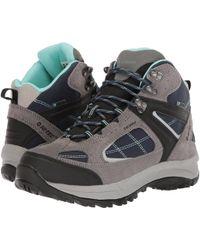Hi-Tec - Altitude Lite Ii I Waterproof (blue Moon/insignia Blue/aquifer) Women's Hiking Boots - Lyst